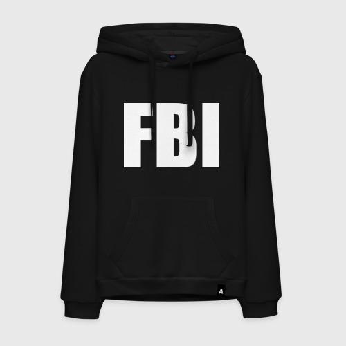 Мужская толстовка-худи FBI