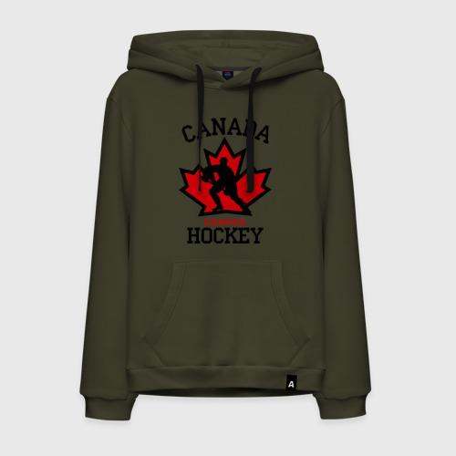 Мужская толстовка-худи Канада хоккей (Canada Hockey)