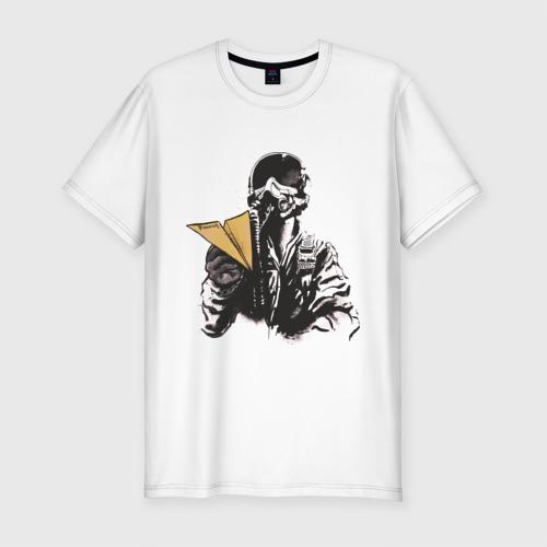 Мужская футболка премиум Пилот