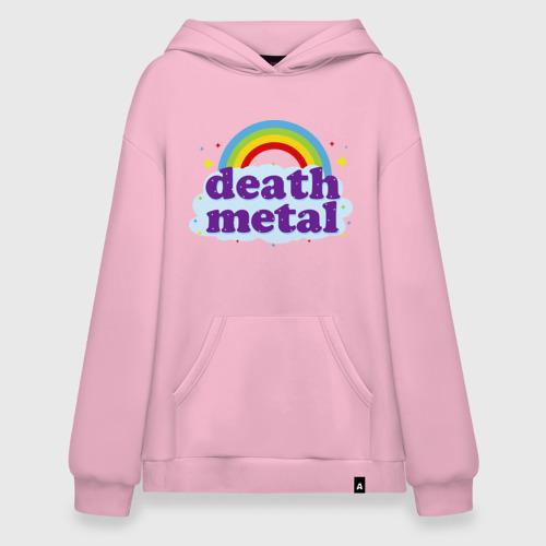 Худи SuperOversize Rainbow death metal
