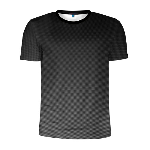 Мужская футболка 3D спортивная Carbon