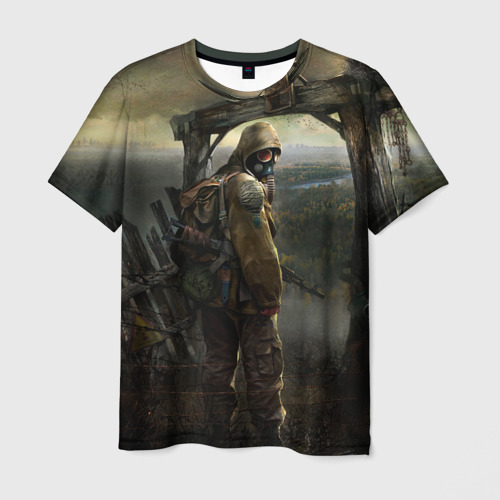 Мужская 3D футболка Stalker
