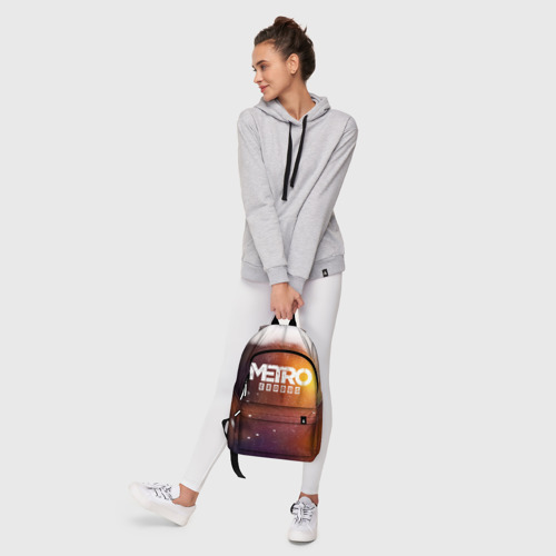 Рюкзак 3D с принтом МЕТРО, фото #6