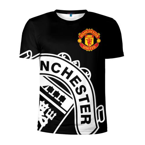 Мужская футболка 3D спортивная Manchester United - Collections 2017 / 2018