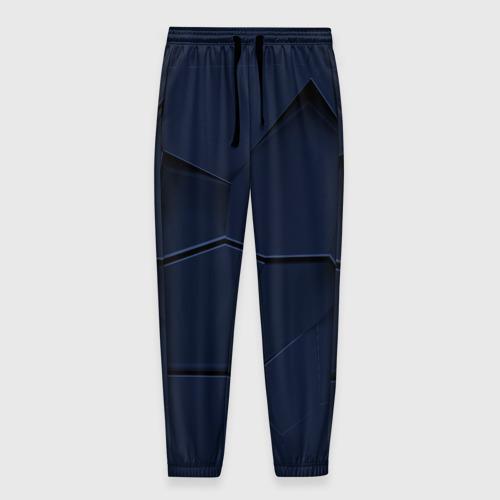 Мужские брюки 3D с принтом Strike abstraction, вид спереди #2