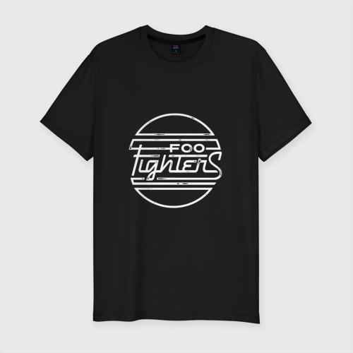 Мужская футболка премиум Эмблема Foo Fighters