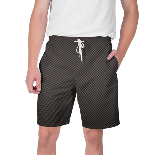 Мужские шорты 3D с принтом Carbon-2, вид спереди #2