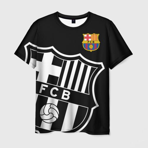 Мужская 3D футболка Барселона