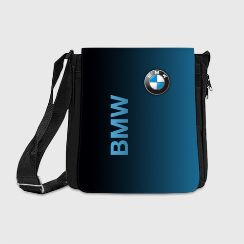 Сумка через плечо с принтом BMW, вид спереди #2