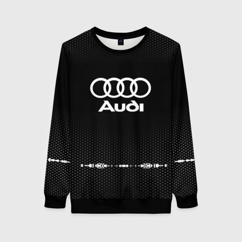 Женский 3D свитшот Audi sport auto abstract