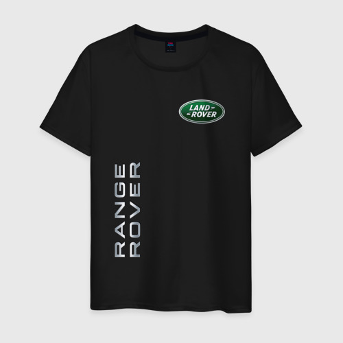 Мужская футболка с принтом Land Rover - Range Rover, вид спереди #2