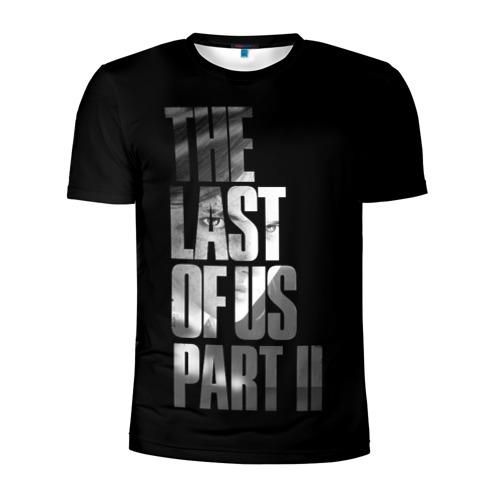 Мужская футболка 3D спортивная The Last of Us II