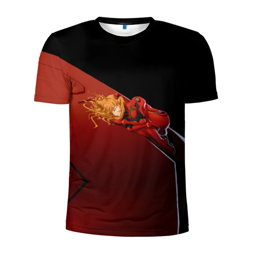 Мужская футболка 3D спортивная Asuka Langley Soryu