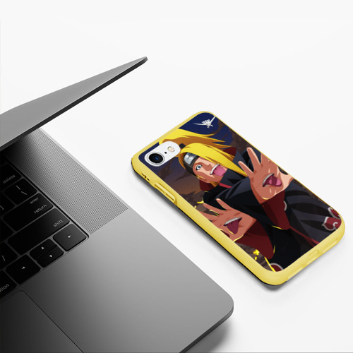 Чехол для iPhone 7/8 матовый с принтом Дейдара, фото #5