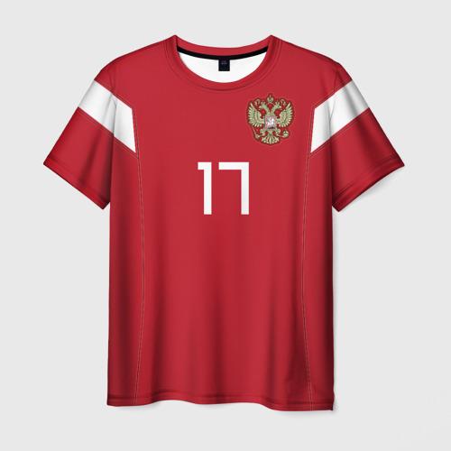 Мужская 3D футболка Головин ЧМ 2018
