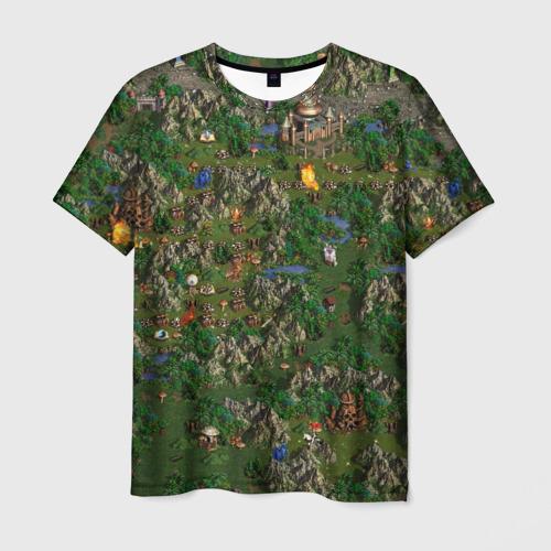 Мужская 3D футболка Heroes of might and magic