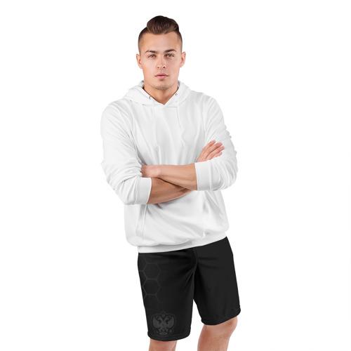 Мужские шорты 3D спортивные с принтом Russia 2018 Shorts (Legend), фото #4