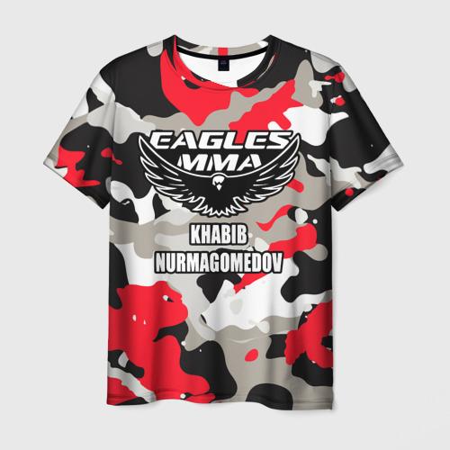 Мужская 3D футболка UFC Хабиб Нурмагомедов