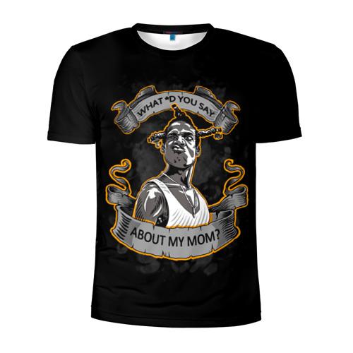 Мужская футболка 3D спортивная Loc Dog / Южный централ