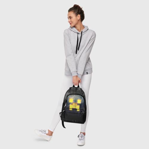 Рюкзак 3D с принтом BLACK Creeper, фото #6