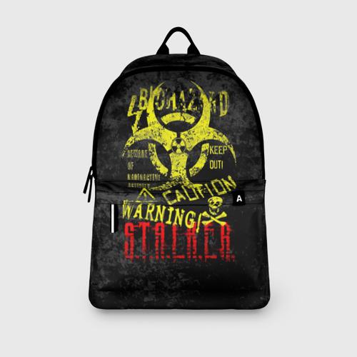 Рюкзак 3D с принтом STALKER, вид сбоку #3