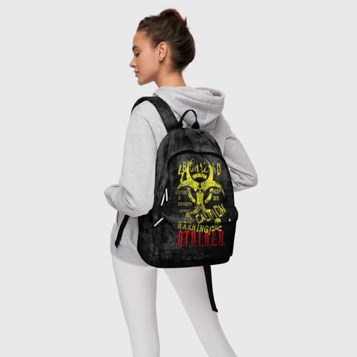 Рюкзак 3D с принтом STALKER, фото #4