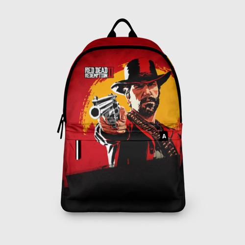 Рюкзак 3D с принтом Red Dead Redemption 2, вид сбоку #3