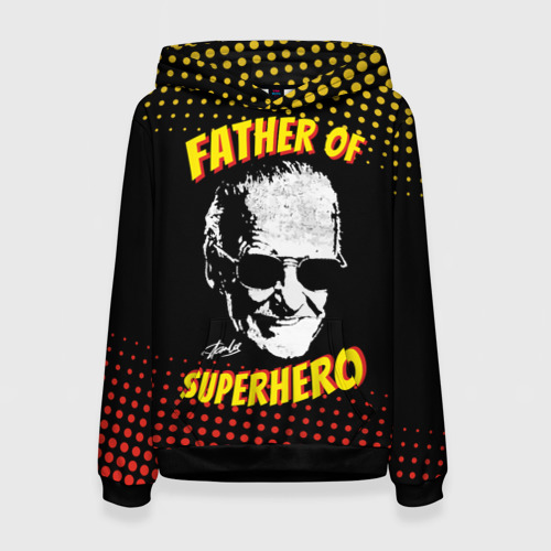 Женская 3D толстовка Stan Lee: Father of Superhero