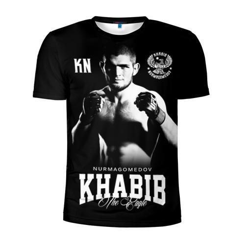 Мужская футболка 3D спортивная Хабиб Нурмагомедов