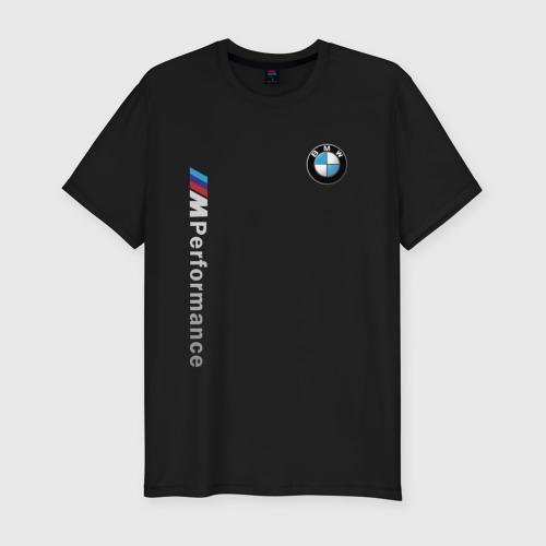 Мужская футболка премиум BMW M PERFORMANCE   БМВ