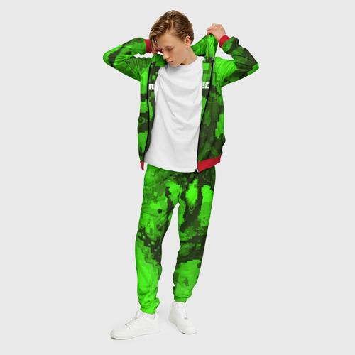 Мужской 3D костюм с принтом MINECRAFT, фото на моделе #1