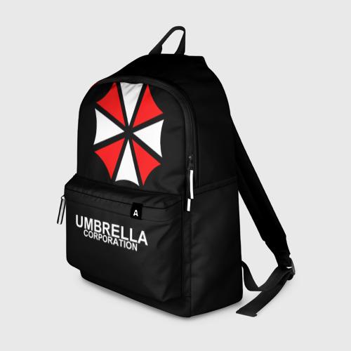 Рюкзак 3D с принтом РЮКЗАК UMBRELLA, вид спереди #2