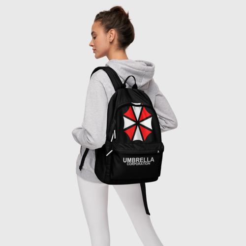Рюкзак 3D с принтом РЮКЗАК UMBRELLA, фото #4