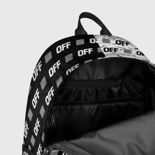 Рюкзак 3D с принтом Выключись и попробуй стиль, фото #7