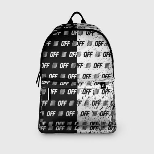 Рюкзак 3D с принтом Выключись и попробуй стиль, вид сбоку #3