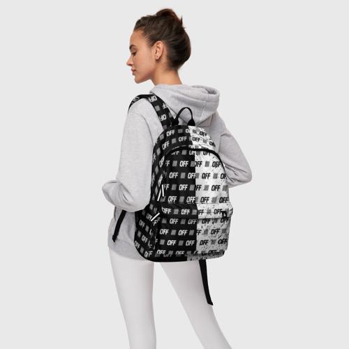 Рюкзак 3D с принтом Выключись и попробуй стиль, фото #4