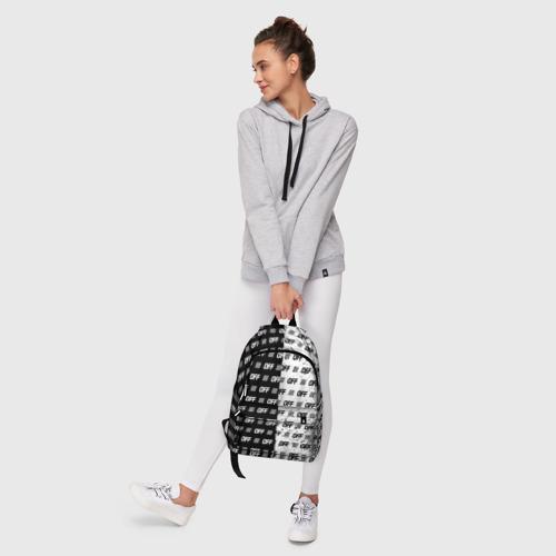 Рюкзак 3D с принтом Выключись и попробуй стиль, фото #6