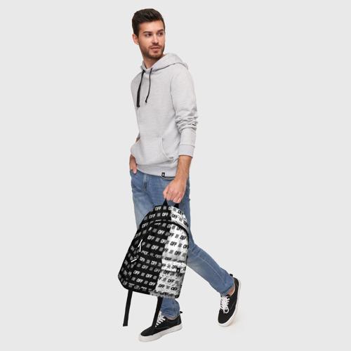 Рюкзак 3D с принтом Выключись и попробуй стиль, фото #5