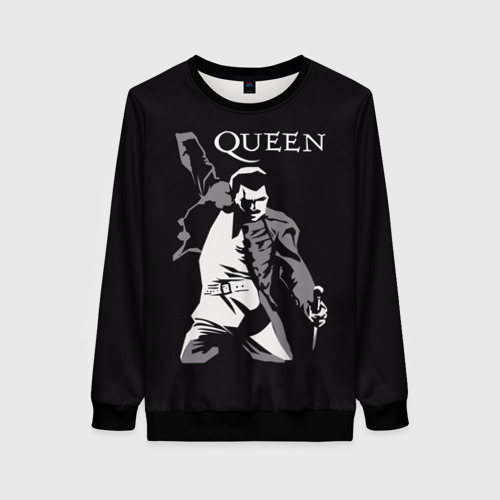 Женский 3D свитшот Queen