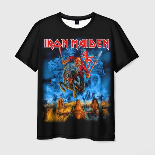 Мужская 3D футболка Iron Maiden