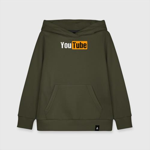 Детская хлопковая толстовка YouTube