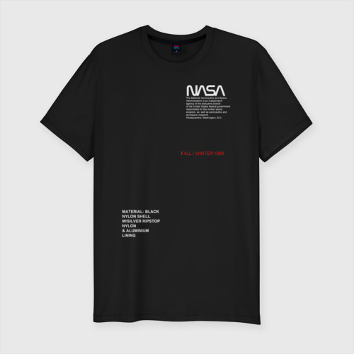 Мужская футболка премиум NASA / НАСА
