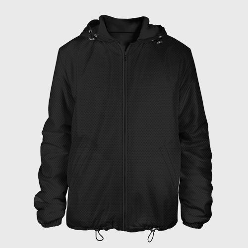 Мужская куртка 3D с принтом Carbon Fiber Big, вид спереди #2