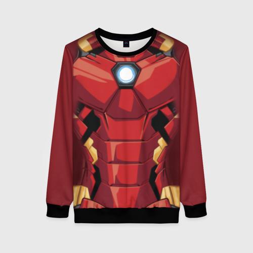 Женский 3D свитшот Iron Man costume