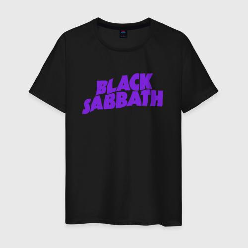 Мужская футболка с принтом Black sabbath, вид спереди #2