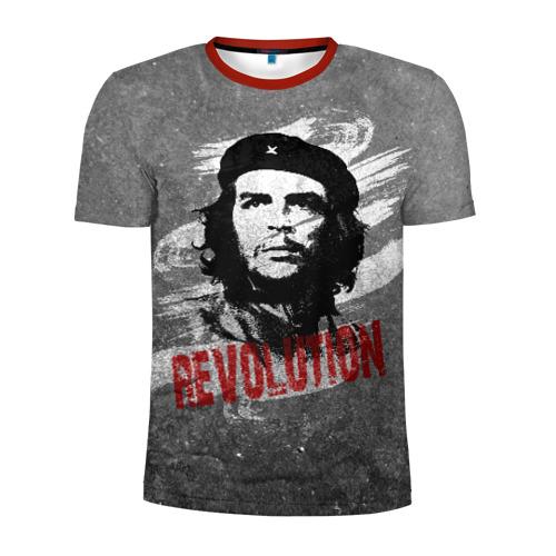 Мужская футболка 3D спортивная Че Гевара