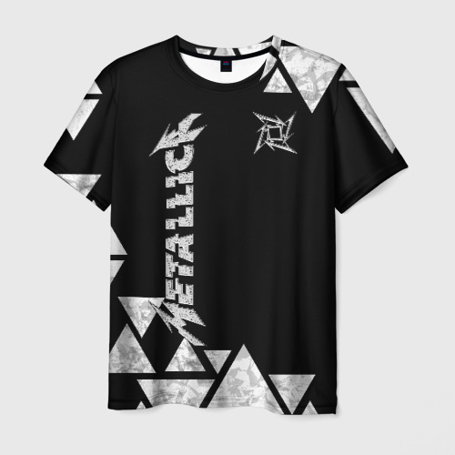 Мужская 3D футболка Metallica
