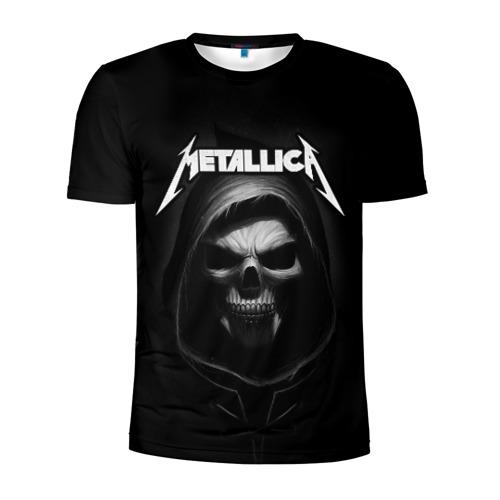 Мужская футболка 3D спортивная Metallica