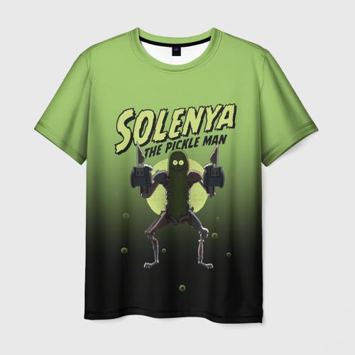 Мужская 3D футболка с принтом Solenya, вид спереди #2