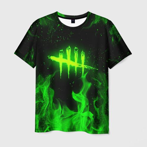 Мужская 3D футболка DEAD BY DAYLIGHT / ДБД